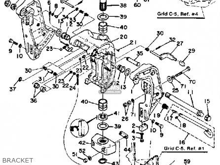 PIN, UPPER SHOCK MOUNT for F200/F225/LF200/LF225TXRA,F225