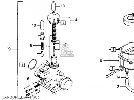 Honda NC50 '78 Express 1978 Parts