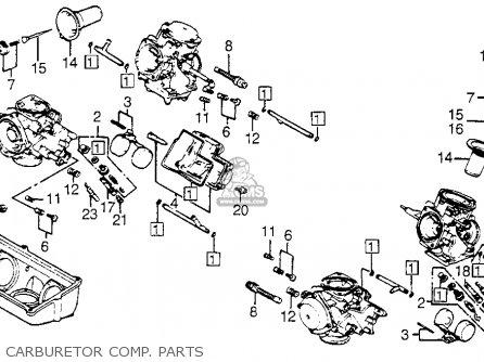 Honda VF700C '84 VF700C Magna 1984 Parts