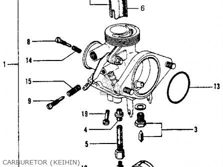 Carburetor Assy. S65 Sport 1965 Usa 16100035681
