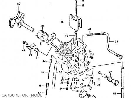Carburetor Assembly Dr350 1996 (t) 1320014D03