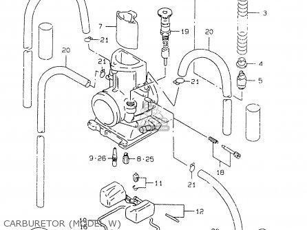Screw Set,air Rm125 1996 (t) Usa (e03) 1328036E20