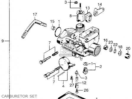HOLDER,NEEDLE.JET, fits Z50A MINI TRAIL K1 1969 1970 USA