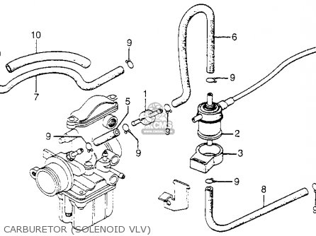 JOINT, SOLENOID PIPE, fits CB750F 750 SUPER SPORT 1978 USA