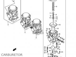 Suzuki Bandit 1200 Carburetor Diagram