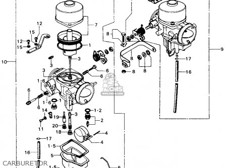 Honda Shadow 1100 Carburetor Diagram Kawasaki Vulcan 500