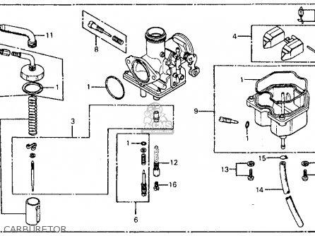 Carburetor Assy. Cm185t Twinstar 1978 Usa 16100419024