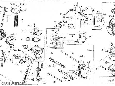 Honda ATC250SX '85 ATC250SX 1985 Parts