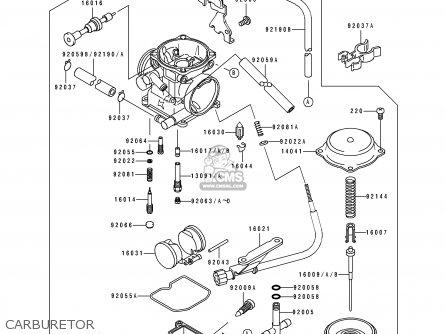 CARBURETOR-ASSY, fits KLX250E2 1994 EUROPE NL AR FG GR IT