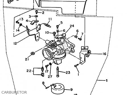 Yamaha Big Bear 400 Parts Diagram Yamaha Raider Parts