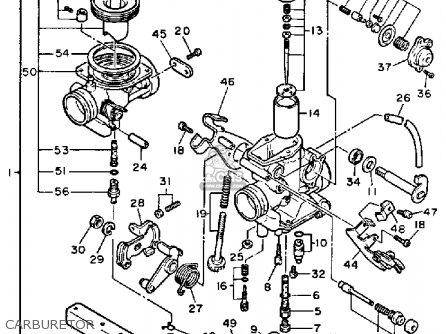 Wiring Diagram Yamaha Fz 750 Yamaha 350 Wiring Diagram