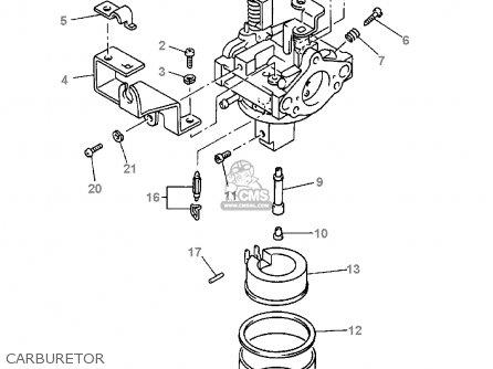 (jn61410110) Carburetor Assy 1 G16-ap/ar 1996/1997 JN61410101