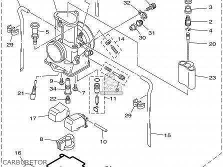 Wiring Diagram 1990 Yamaha Xt600 1990 Yamaha YZ250F Wiring