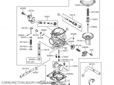 Valve,vacuum Vn1500g1a Vulcan 1500 Nomad 1999 Usa