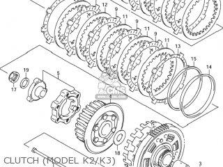 BOLT,CLUTCH SPRING SUPPORT for GSX1300R HAYABUSA 1999 (X