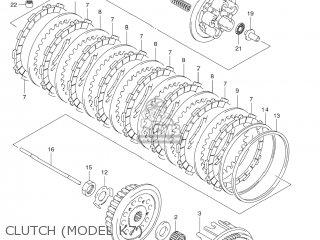 Bracket,clutch Cable Rm-z250 2007 (k7) Usa (e03) Rmz250 Rm