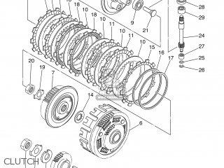 PUSH LEVER ASSY for XT660Z 2012 11D9 EUROPE TENERE 1L11D