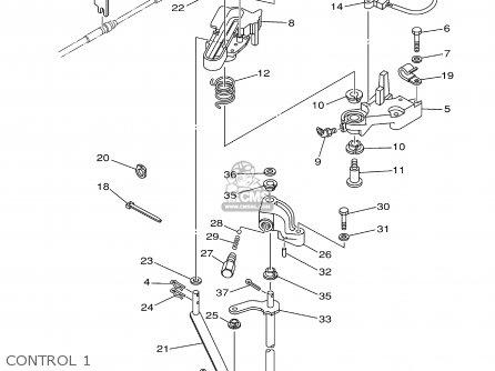 HANDLE GEAR SHIFT ASSY for F200/F225/LF200/LF225TXRB, F225