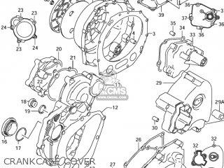 COVER,ENGINE SPROCKET for GSX1300R HAYABUSA 1999 (X) USA