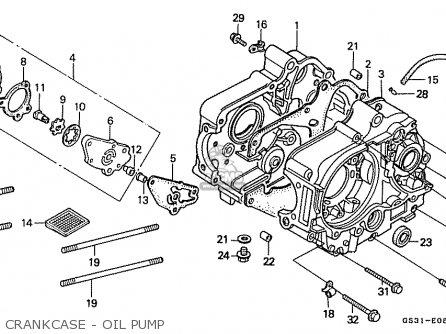 CRANKCASE COMP.,L (JDM) for CA50 JAZZ 1995 (S) JAPAN