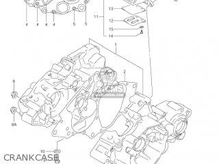 CRANKCASE SET for RM85L 2002 2003 2004 2005 '06 (K2) (K3