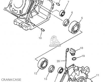 (jn61545102) Gasket, Crankcase Cover 1 G16-ap/ar 1996/1997
