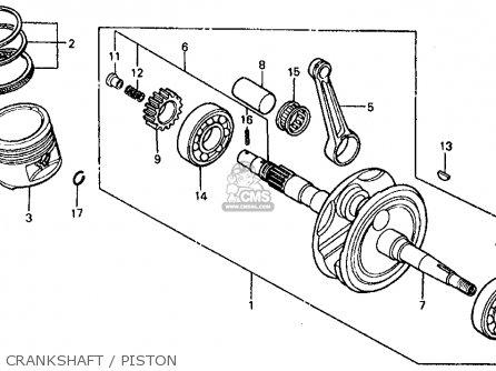 Honda Trx200 Fourtrax 200 1984 Usa Cam Chain Tensioner
