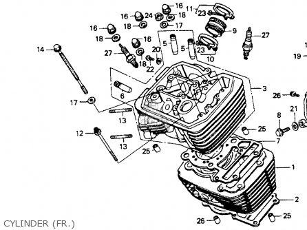 Gasket,cylinder H Vt600c Shadow 1998 (w) Spain 12251MR1830