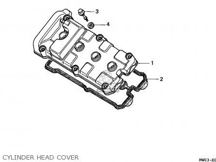 Honda CBR900RR '96 CBR918RR 1996 Parts