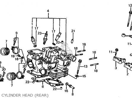 Honda VF1000F '84 1000 Interceptor 1984 Parts