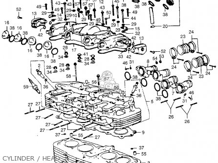 Wiring Diagram For 1984 Honda Trx200 1984 Honda GL1200
