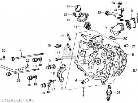 Honda CN250 '94 CN250 Helix 1994 Parts