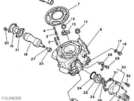 Wiring Diagram PDF: 2002 Yamaha Yz 125 Wiring Diagram