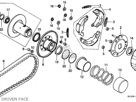 Wiring Diagram For Yamaha Moto 4 Yamaha Moto 4 Parts