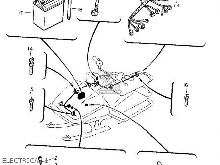 RECTIFIER & REGULATOR ASSY for SV80P SNO-SCOOT 1990