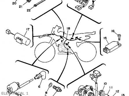 Yamaha Bear Tracker 250 Electrical Diagram Yamaha Bruin