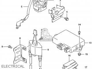 CDI UNIT for DR650SE 1996 (T) (E02 E04 E17 E18 E22 E24 E34