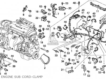 H22a Engine Harness Wiring Hoist Harness Wiring Diagram