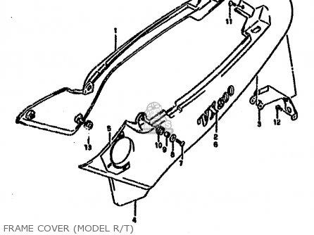 COVER,FRAME,R. for VX800 1990 (L) (E01 E02 E04 E15 E16 E17