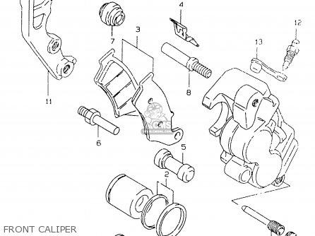 BRACKET for DR-Z400E 2004 (K4) USA (E03) DRZ400E DR Z400E
