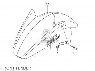 FENDER,FR, fits GSF1250SA BANDIT 2009 (K9) CALIFORNIA (E33