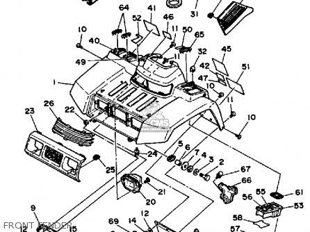 Yamaha 90cc Engine Diagram, Yamaha, Free Engine Image For