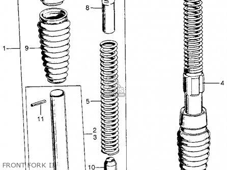 (51503098000) Cap,fork Guide Z50j1 Monkey Germany 51503064010