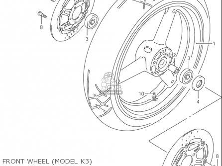 Disc,fr Brake Gsx750 F Katana 2004-2006 (usa) 5921008F11