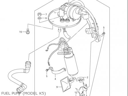 Pump Assy,fuel Vl800 ,z Volusia 2001-2004; C50,t,z 2005