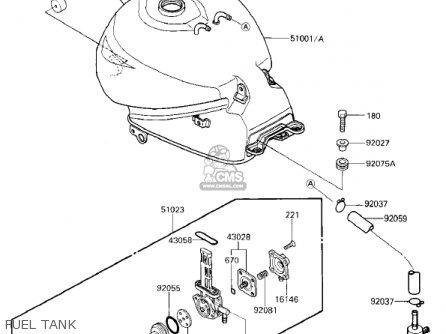 Fuel Tank,complete Ex250e2 Ninja 250r 1987 Usa California