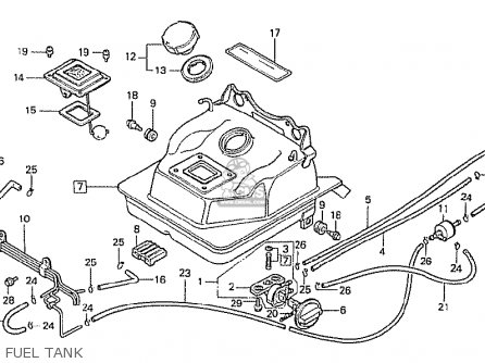 Label, Fuel Caution Ncz50 Motocompo 1981 (b) Belgium