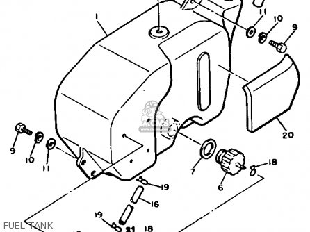 Yamaha Fuel Gauge Wiring, Yamaha, Free Engine Image For