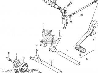 RETAINER,GEAR SHIFT FORK SHAFT for GSXR750 2001 (K1) USA