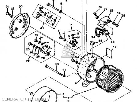 (95307-04600) Nut Ef1800 Ef2600 Ef1200 Generator 9530204600